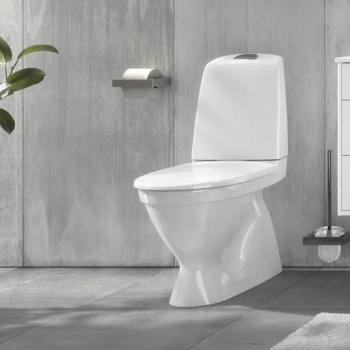 Gustavsberg Nautic 1500 Hygienic Flush dolt S-lås