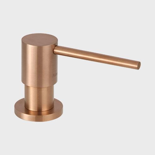Primy Steel Tvålpump Clean Dispenser Amber