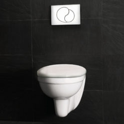 Westerbergs Wall Toalett Komplett Vit