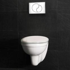 Westerbergs Wall Toalett Vägghängd Med Lock