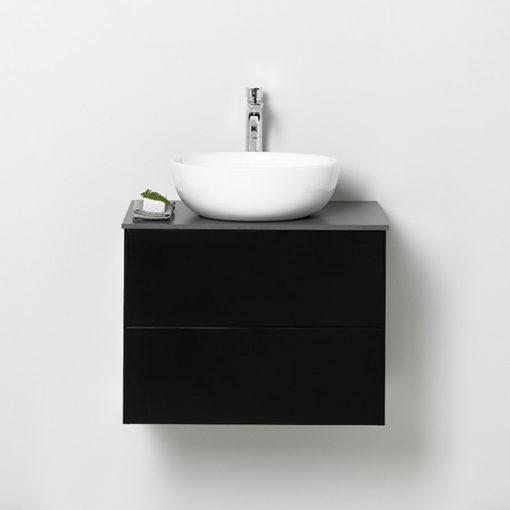 Westerbergs Afton Tvättställsskåp 600 Svart, Push-Open