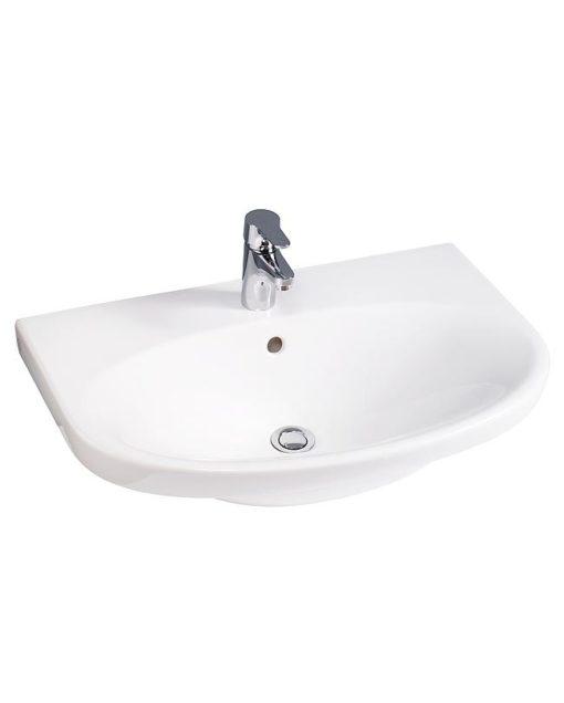 Gustavsberg Tvättställ Nautic 5570 - för bult/konsolmontage 70 cm