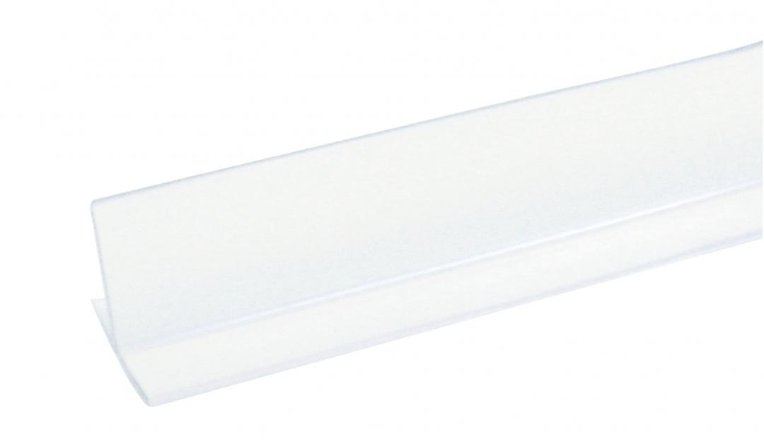 Demerx T-list 2000 mm Höjd 55 mm Vit