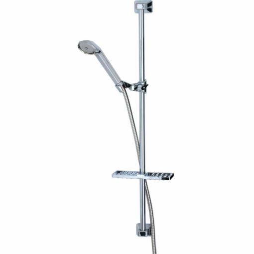 Briljant duschset 60 cm (krom)