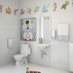 Gustavsberg Toalettstol 305 barnmodell - s-lås Enkelspolning 4L, standardsits