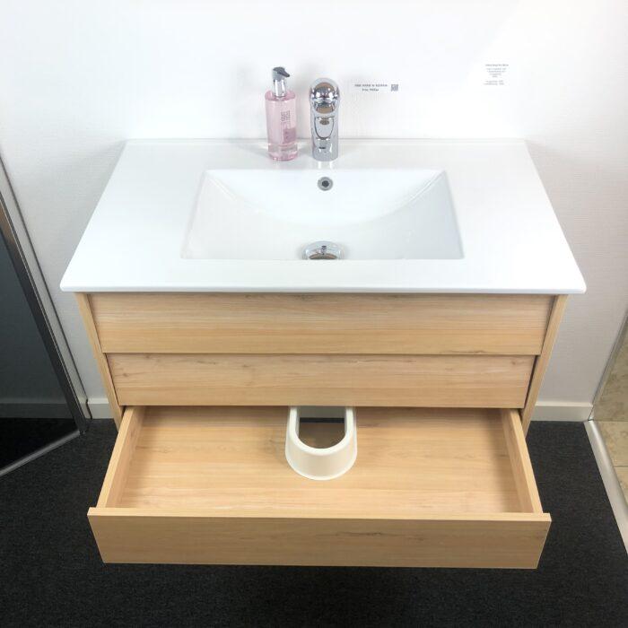 QBad Eksjö Ek Tvättställskommod 80 cm
