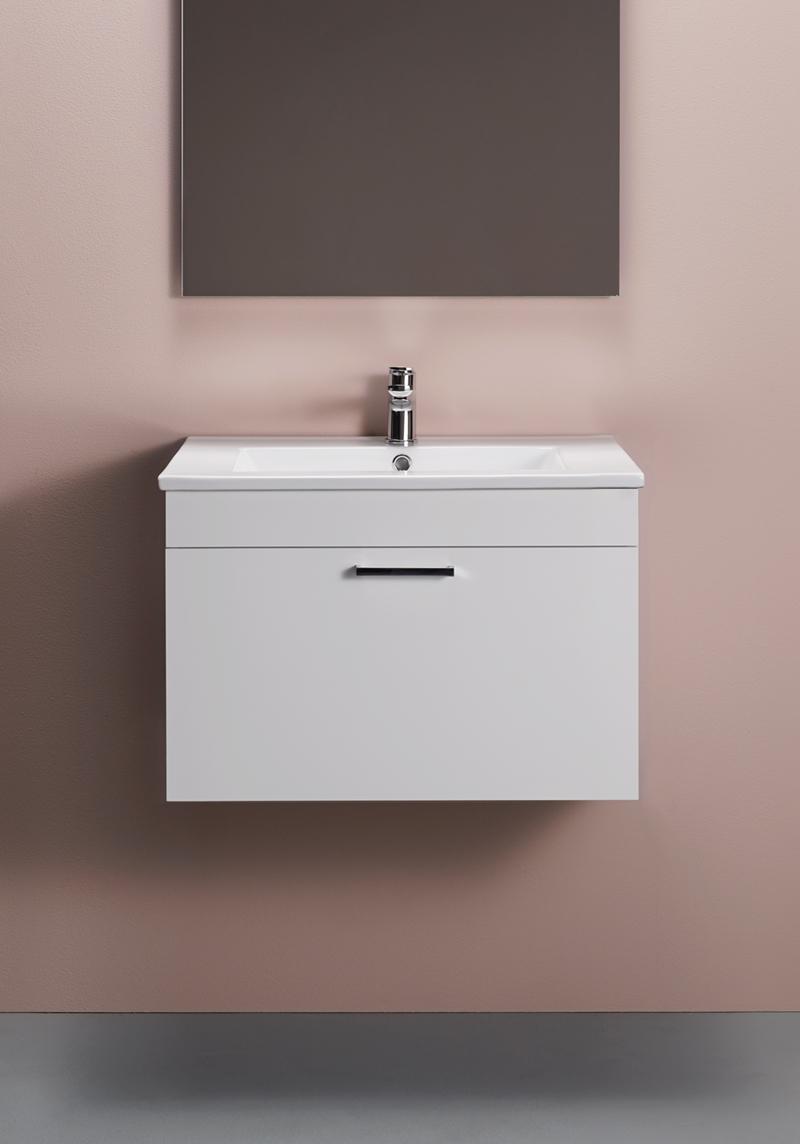 Hafa Go Tvättställsskåp 600 Vit Högblank