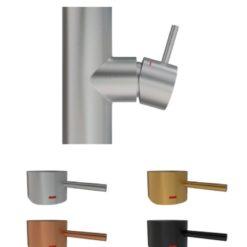 Primy Steel Handtag till blandare Short bar 5mm