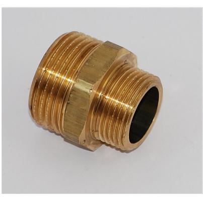 Metall sexkantnippel utv gg. 40x25