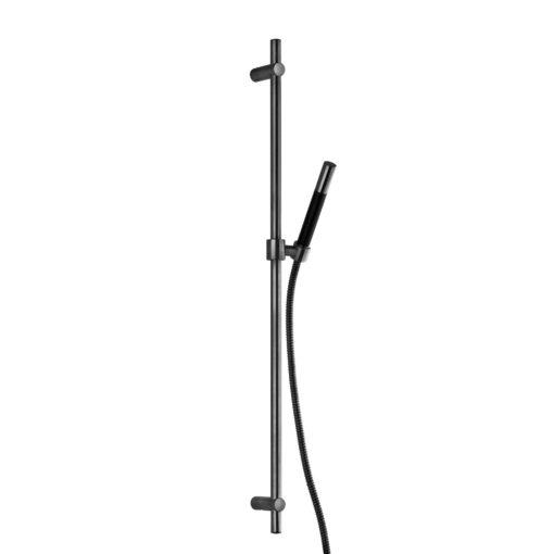 Tapwell ZSAL300 Duschset Black Chrome