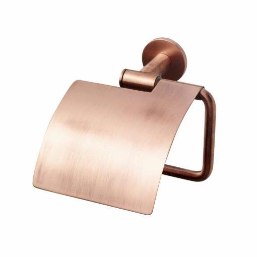 Tapwell TA236 Toalettpappershållare med lock Koppar