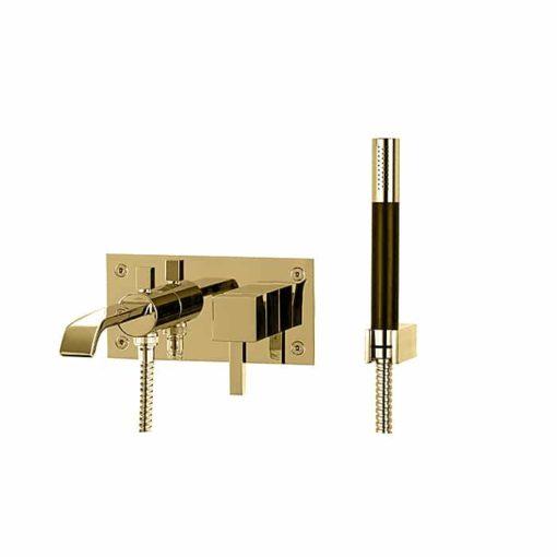 Tapwell Box BOX026 RETTANGOLO Dusch- och badkarsblandare Mässing