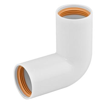 Faluplast böj 32x90 grader PP-rör