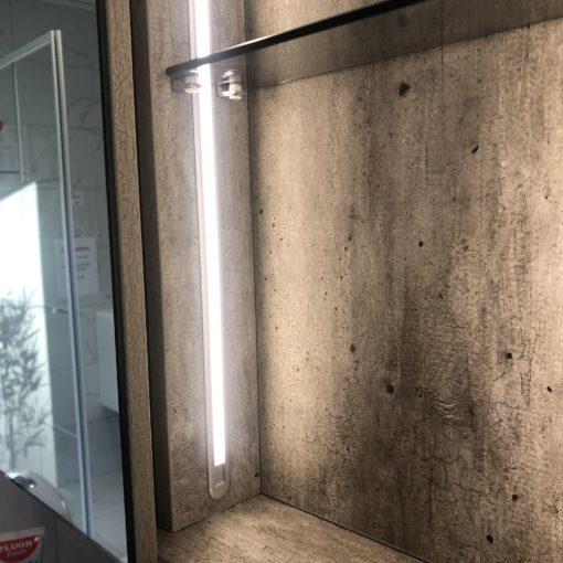 Badrumsspegel Cement 100 cm QBad Högbo