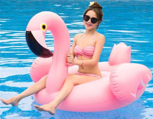 Flamingo Uppblåsbar 150 cm