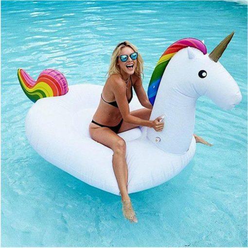 Unicorn Uppblåsbar badleksak