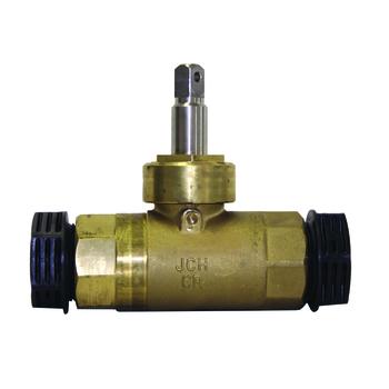 Avtappningsventil S-2155 XCD med dräneringshål