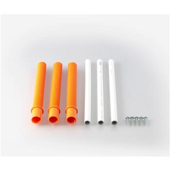 Förhjöjningssats Roboust 200 mm Maxhöjd 600 mm Vit/Orange