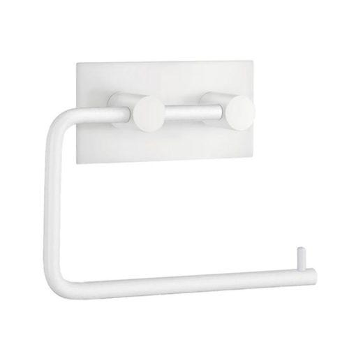 vit självhäftande toalettpappershållare