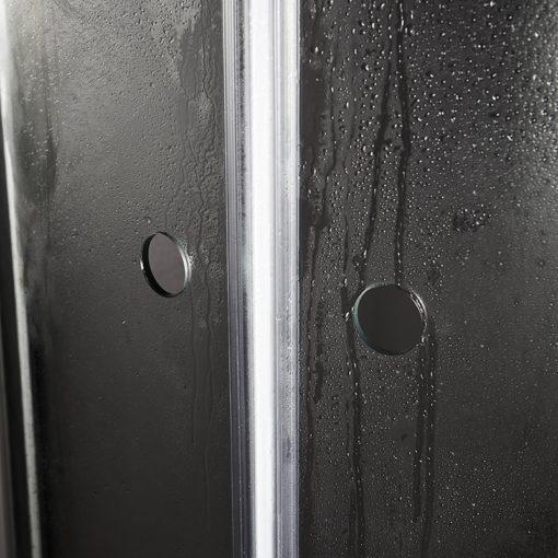 duschdörr nejd klarglas matt aluminium