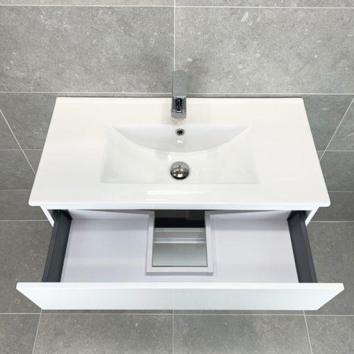 tvättställskommod vit 80 cm qbad