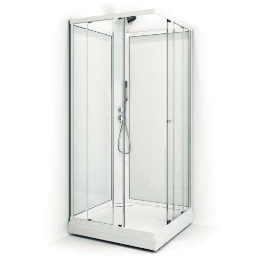 Duschkabin Macro Design Flow Klarglas Rak Exclusive