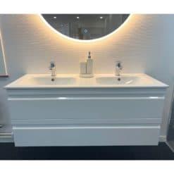 Tvättställskåp vit terra 120 (1)
