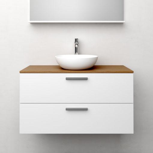 Tvättställsskåp Westerbergs Jord Vit Matt 120 cm Dubbelho