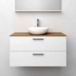 Tvättställsskåp Westerbergs Jord Vit Matt 100 cm