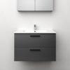 Tvättställsskåp Westerbergs Jord Antracit Matt 80 cm