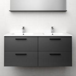 Tvättställsskåp Westerbergs Jord Antracit Matt 120 cm D