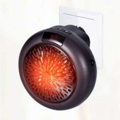 Elektrisk värmefläkt för vägguttag portabel 900W